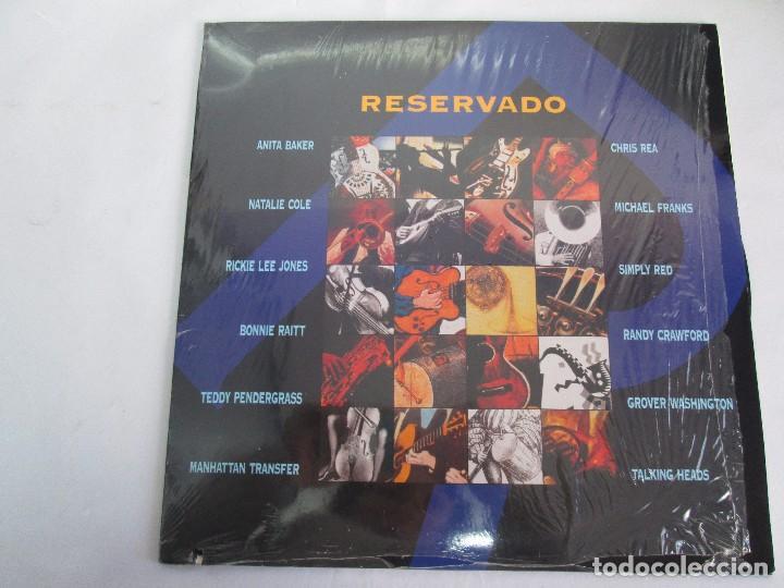 Discos de vinilo: RESERVADO. ANITA BAKER. NATALIE COLE. CHRIS REA. MICHAEL FRANKS..LP VINILO GRABACIONES ACCIDENTALES - Foto 2 - 106923739