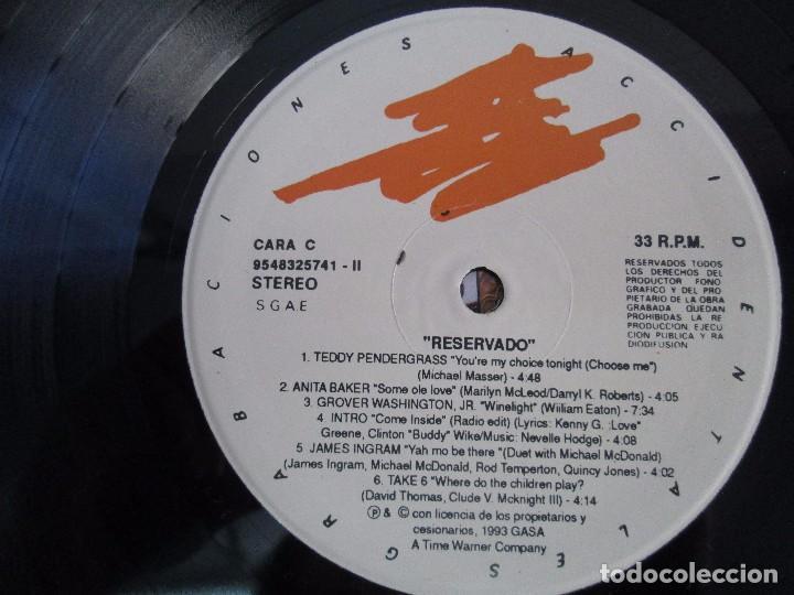 Discos de vinilo: RESERVADO. ANITA BAKER. NATALIE COLE. CHRIS REA. MICHAEL FRANKS..LP VINILO GRABACIONES ACCIDENTALES - Foto 10 - 106923739