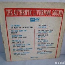 Discos de vinilo: THE AUTHENTIC LIVERPOOL SOUND. LP VINILO ODEON EMI 1964. VER FOTOGRAFIAS ADJUNTAS. Lote 106924043