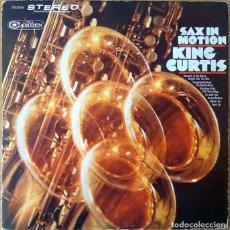 Discos de vinilo: KING CURTIS : SAX IN MOTION [USA 1968]. Lote 106927715
