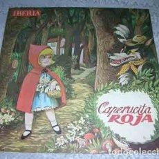 Discos de vinilo: CAPERUCITA ROJA - CUENTO - SINGLE. Lote 106928727