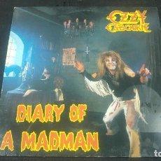 Discos de vinilo: OZZY OSBOURNE - DIARY A MADMAN -. Lote 106933707