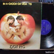 Discos de vinilo: HOT R. IN-A-GADDA-DA-VIDA 79 LP SPAIN 1978 PDELUXE. Lote 106934003