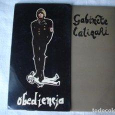 Discos de vinilo: GABINETE CALIGARI OBEDIENCIA . Lote 106936103