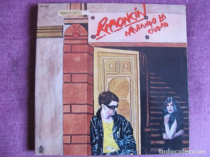 LP - RAMONCIN - ARAÑANDO LA CIUDAD (SPAIN, HISPAVOX 1981, PORTADA DOBLE) (Música - Discos - LP Vinilo - Solistas Españoles de los 70 a la actualidad)