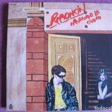 Discos de vinilo: LP - RAMONCIN - ARAÑANDO LA CIUDAD (SPAIN, HISPAVOX 1981, PORTADA DOBLE). Lote 106937583
