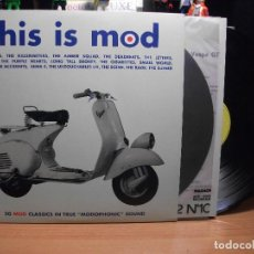 Discos de vinilo: VARIOS - UK - SONIDO MOD THIS IS MOD LP ITALIA PEPETO TOP . Lote 106939627