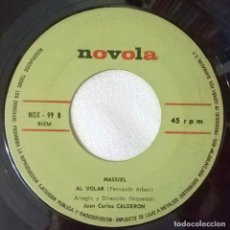 Discos de vinilo: MASSIEL-AMEN AL VOLAR, NOVOLA ?– NOX-99. Lote 106941547