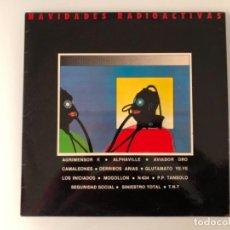 Discos de vinilo: NAVIDADES RADIOACTIVAS LP+ENCARTE+FANZINE. Lote 106959823