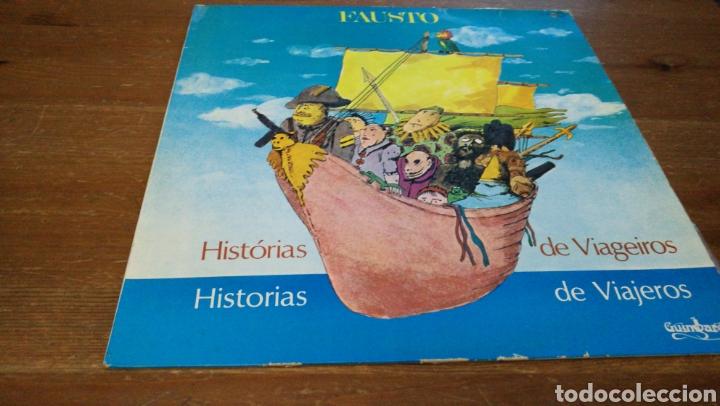FAUSTO - HISTORIAS DE VIAGEIROS (Música - Discos - LP Vinilo - Country y Folk)