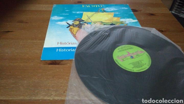 Discos de vinilo: Fausto - Historias de Viageiros - Foto 3 - 106961924