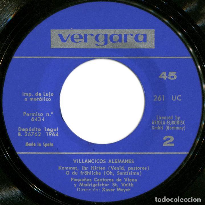 Discos de vinilo: Los Pequeños Cantores de Viena ?– Noche de Paz (Villancicos Alemanes) - Ep Spain 1969 - Vergara ? - Foto 4 - 106964451