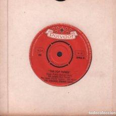 Discos de vinilo: THE STRONG STRING BAND / THE TOP TUNES / EP POLYDOR RF-3328. Lote 106965287