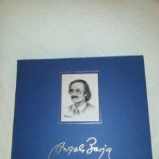 Discos de vinilo: ANGEL BARJA - VIDA Y OBRA - 4 VINILOS + 2 LIBROS- 1989 CASKABEL - EDICIÓN DE LUJO.. Lote 106987035