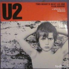 Discos de vinilo: U2 - TWO HEARTS BEAT AS ONE(CLUB VERSION) - MX - EDICION INGLESA DEL AÑO 1983.. Lote 137026662