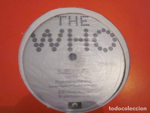 Discos de vinilo: THE WHO - SUBSTITUTE + 2 - MX - EDICION INGLESA - VER FOTOS ADICIONALES. - Foto 2 - 106988119