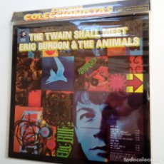 Discos de vinilo: ERIC BURDON & THE ANIMALS- THE TWAIN SHALL MEET- SPAIN LP 1980 + OBI - COMO NUEVO.. Lote 107005787