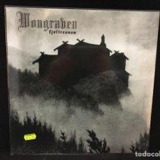 Discos de vinilo: WONGRAVEN - FJELLTRONEN - LP RARA EDICIÓN ALEMANA NO OFICIAL. Lote 195535355