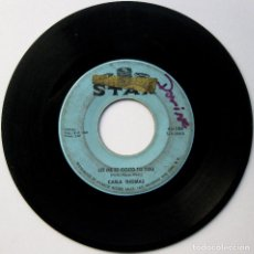 Discos de vinilo: CARLA THOMAS - LET ME BE GOOD TO YOU / ANOTHER NIGHT WITHOUT MY MAN - SINGLE STAX 1966 USA BPY. Lote 107028419