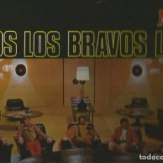 Discos de vinilo: LOS BRAVOS LP SELLO POLYDOR EDITADO EN MEXICO AÑO 1969. Lote 107053867