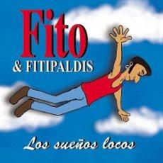 Discos de vinilo: FITO Y LOS FITIPALDIS - LOS SUEÑOS LOCOS LP - EDICION VINILO + CD - WARNER / ROCK - A ESTRENAR. Lote 101516395