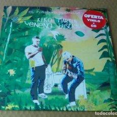 Discos de vinilo: KIKO VENENO - EL PIMIENTO INDOMABLE (LP + CD 2014, SATÉLITE K SATKLP137) PRECINTADO. Lote 107095395