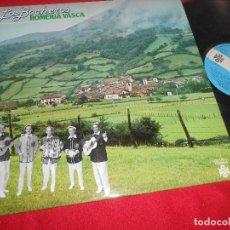 Discos de vinilo: LOS BOCHEROS ROMERIA VASCA LP 1978 MOVIEPLAY SPAIN ESPAÑA. Lote 107100143