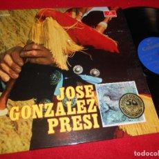 Discos de vinilo: JOSE GONZALEZ ''PRESI'' LP 1969 COLUMBIA SPAIN ESPAÑA ASTURIAS. Lote 107102163