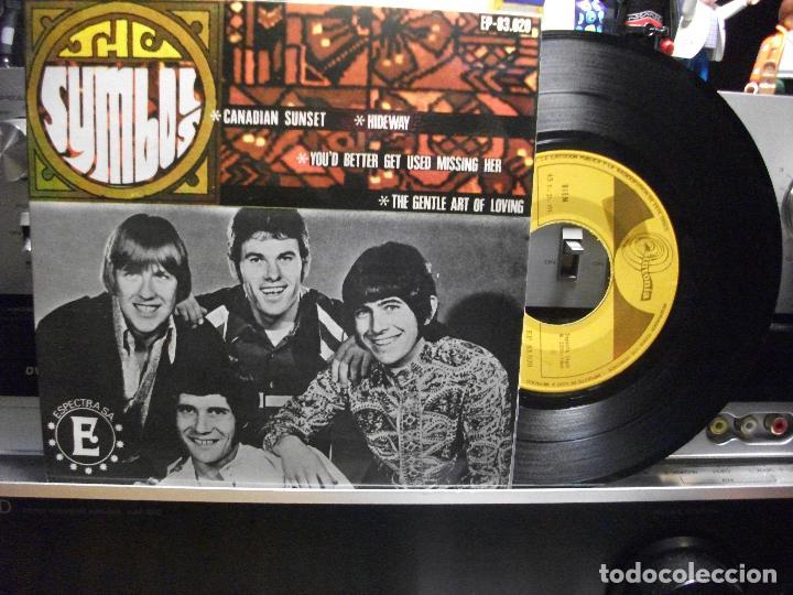 THE SYMBOLS CANADIAN SUNSET + 3 EP SPAIN 1968 PEPETO TOP (Música - Discos de Vinilo - EPs - Pop - Rock Internacional de los 50 y 60)