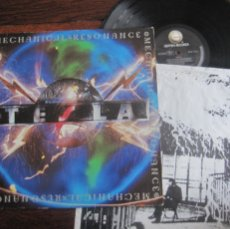 Discos de vinilo: TESLA `MECHANICAL RESONANCE`. Lote 107097667