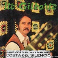 Discos de vinilo: ITO GILBERTO - EP 1973 GRABACIONES CANDILEJAS TENERIFE SELLO LEO. Lote 107118451