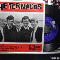 Discos de vinilo: THE TORNADOS GRANADA / AQUA MARINA EP SPAIN 1966 PEPETO TOP . Lote 107126719