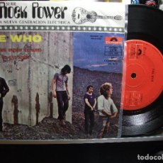 Discos de vinilo: THE WHO NO ME DEJARE ENGAÑAR + 2 EP MEJICO 1972 PEPETO TOP . Lote 107128739