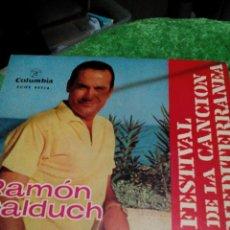 Discos de vinilo: C1--DISCO VINILO SINGEL___RAMON CALDUCH, 4 CANCIONES. Lote 107142935