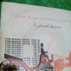 Discos de vinilo: C1--DISCO VINILO SINGEL_ THE MARDI GRAS 2 CANCIONES,. Lote 107155131