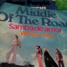 Discos de vinilo: C1--DISCO VINILO SINGEL,MIDDLE OF THE ROAD___2 CANCIONES,. Lote 107172187
