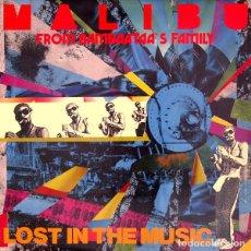 Discos de vinilo: MALIBU - LOST IN THE MUSIC - MAXI-SINGLE ITALY 1991. Lote 107191935