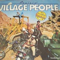 Discos de vinilo: VILLAGE PEOPLE - CRUISIN LP - ORIGINAL ALEMAN - METRONOME RECORDS 1978 - . Lote 107203491