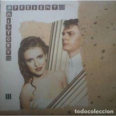Discos de vinilo: LP- PRESENT HISTORY – PRESENT HISTORY (SYNTH POP). Lote 107217923