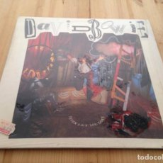 Discos de vinilo: DAVID BOWIE -- NEVER LET ME DOWN -LP-. Lote 107220187