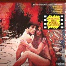 Discos de vinilo: LP BSO ZABRISKIE POINT ( FILM DE M. ANTONIONI ) PINK FLOYD & GRATEFUL DEAD & KALEIDOSCOPE. Lote 218926592
