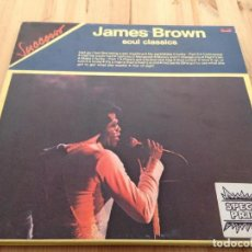 Discos de vinilo: JAMES BROWN - JAMES BROWN SOUL CLASSICS -LP. Lote 107223331