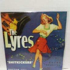 Discos de vinil: LP ** THE LYRES ** SHITKICKERS ** OVER/ NEAR MINT ** LP/ MINT ** 1995. Lote 107223587