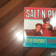 Discos de vinilo: SALT-N-PEPA. TWIST AND SHOUT,GET UP EVERYBODY.MAXI ESPAÑA. Lote 107223655