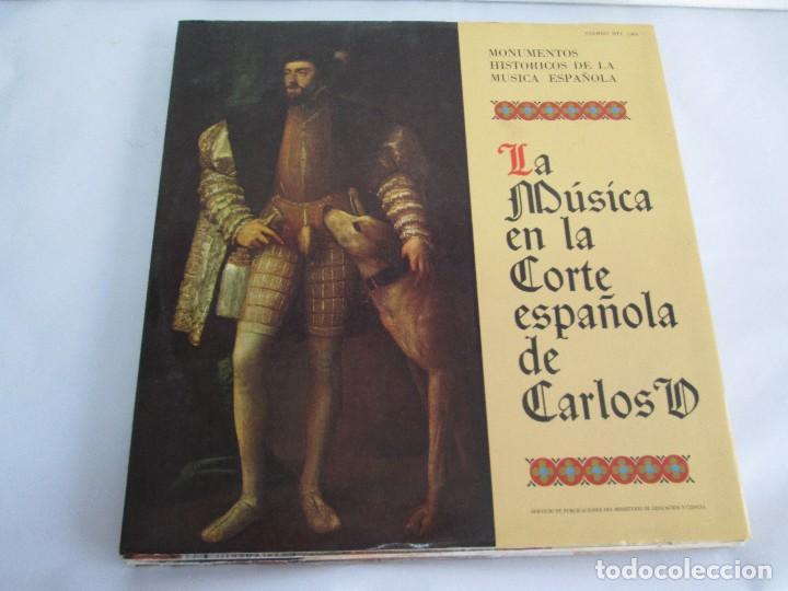 Discos de vinilo: MONUMENTOS HISTORICOS DE LA MUSICA ESPAÑOLA. 4LP VINILO. EL CANTO MOZARABE. MUSICA INSTRUMENTAL ... - Foto 2 - 107227371