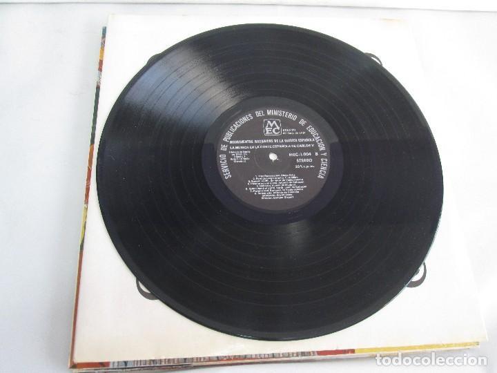 Discos de vinilo: MONUMENTOS HISTORICOS DE LA MUSICA ESPAÑOLA. 4LP VINILO. EL CANTO MOZARABE. MUSICA INSTRUMENTAL ... - Foto 10 - 107227371