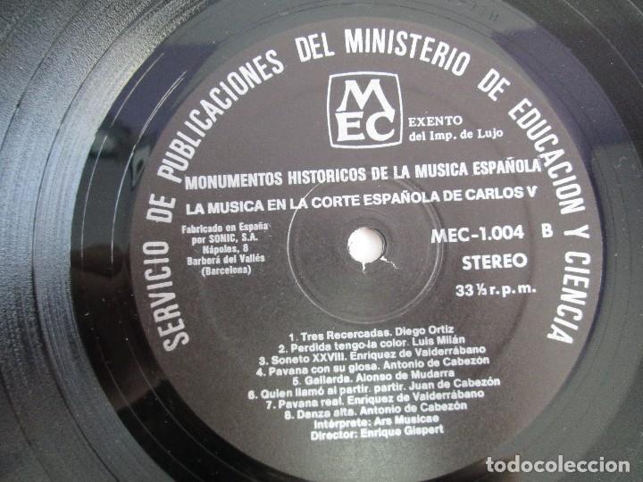 Discos de vinilo: MONUMENTOS HISTORICOS DE LA MUSICA ESPAÑOLA. 4LP VINILO. EL CANTO MOZARABE. MUSICA INSTRUMENTAL ... - Foto 11 - 107227371