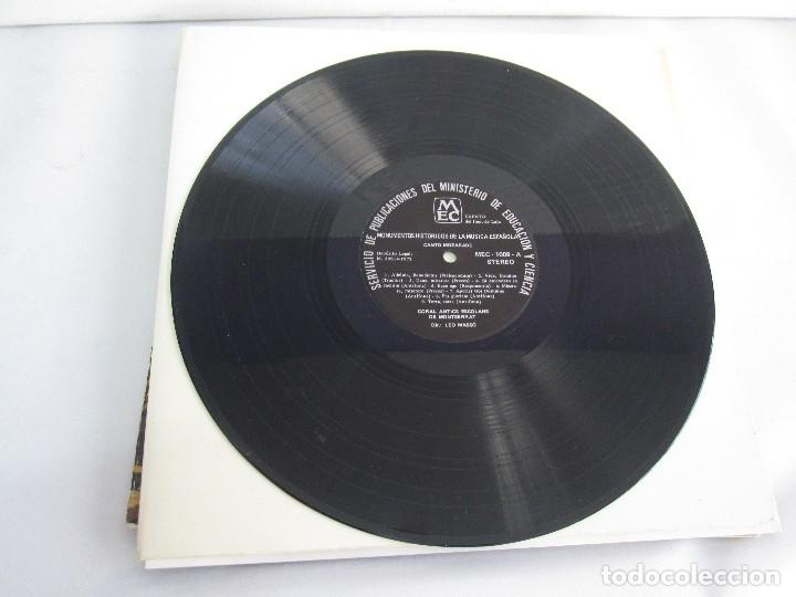Discos de vinilo: MONUMENTOS HISTORICOS DE LA MUSICA ESPAÑOLA. 4LP VINILO. EL CANTO MOZARABE. MUSICA INSTRUMENTAL ... - Foto 18 - 107227371