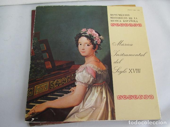 Discos de vinilo: MONUMENTOS HISTORICOS DE LA MUSICA ESPAÑOLA. 4LP VINILO. EL CANTO MOZARABE. MUSICA INSTRUMENTAL ... - Foto 21 - 107227371