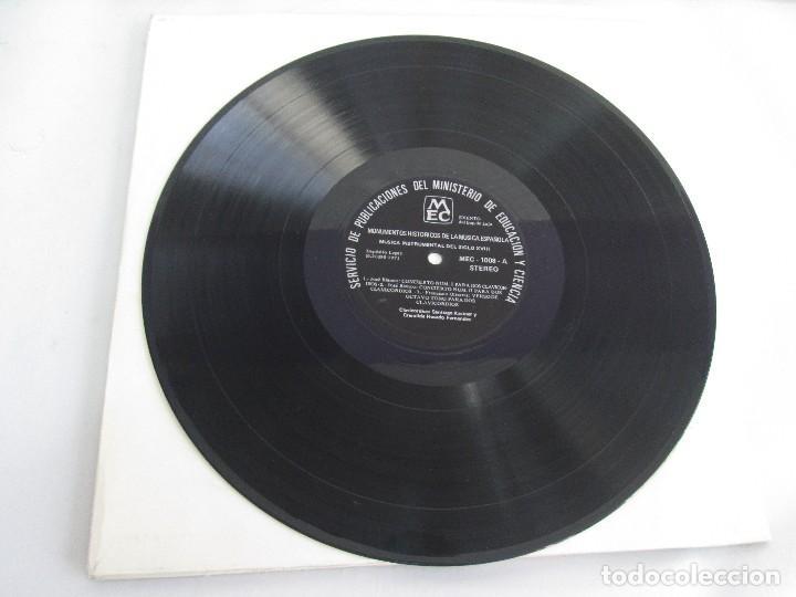 Discos de vinilo: MONUMENTOS HISTORICOS DE LA MUSICA ESPAÑOLA. 4LP VINILO. EL CANTO MOZARABE. MUSICA INSTRUMENTAL ... - Foto 25 - 107227371